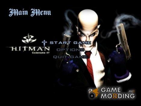 Меню и загрузочные экраны в стиле Hitman для GTA San Andreas