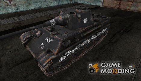Panther II Ведьма. die Hexe. для World of Tanks