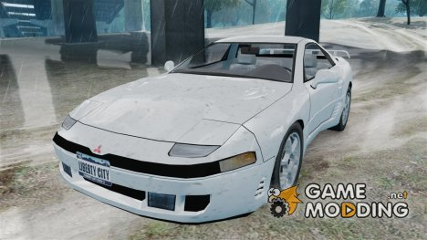 Mitsubishi 3000GT 1992 for GTA 4