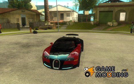Спойлер для Bugatti Veyron Final for GTA San Andreas