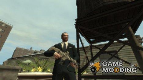 """Штурмовая винтовка """"FN SCAR-L"""" для GTA 4"""