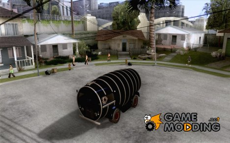 Beer Barrel Truck for GTA San Andreas