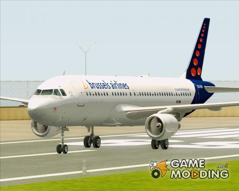 Airbus A320-200 Brussels Airlines for GTA San Andreas