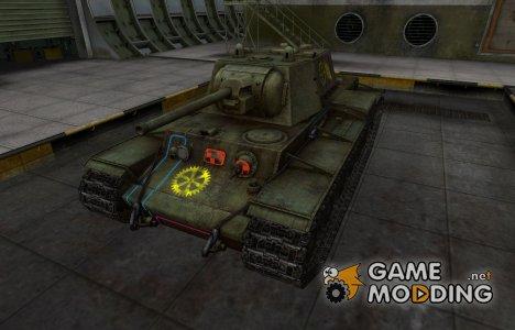Контурные зоны пробития КВ-1 для World of Tanks