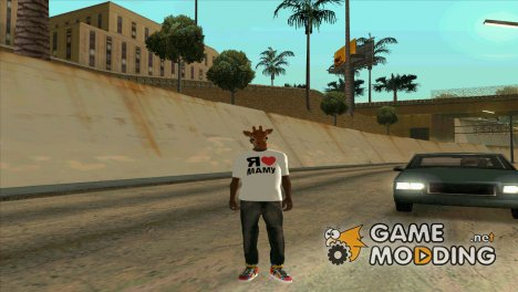 "Футболка ""Я люблю маму"" for GTA San Andreas"