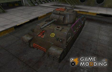 Контурные зоны пробития T14 для World of Tanks