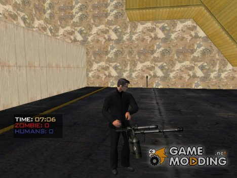 Мод пак Оружие Для ( HadcoreZm ) for GTA San Andreas