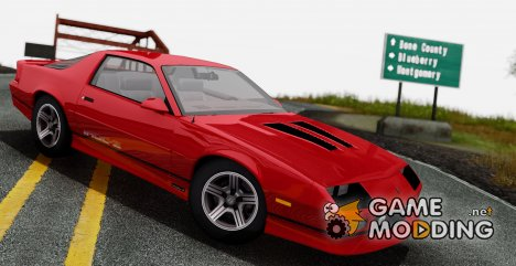 1990 Chevrolet Camaro IROC-Z для GTA San Andreas