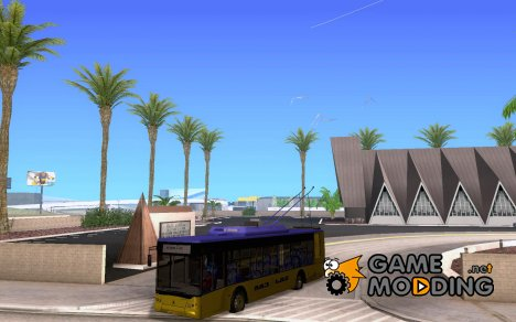 Троллейбус для GTA San Andreas