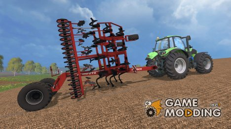 Культиватор Horsh Terrano 8M AO for Farming Simulator 2015