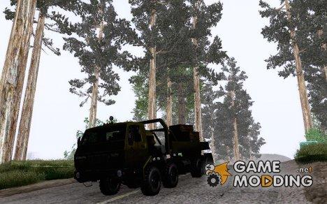 KrAZ 6316 для GTA San Andreas