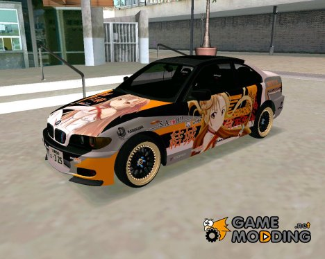 BMW 325t E46 Itasha for GTA San Andreas