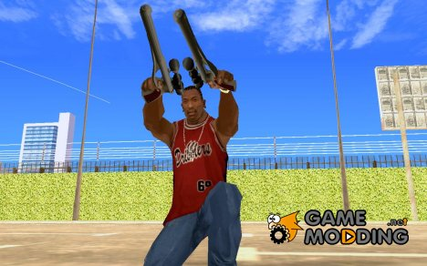 Пистолет Кэда Бэйн из CW для GTA San Andreas
