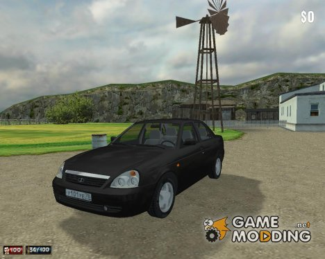 Lada Priora 2008 for Mafia: The City of Lost Heaven