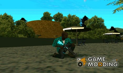 BlueLine M4 для GTA San Andreas