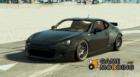 Rocket Bunny Toyota GT-86 for GTA 5