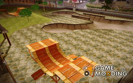 Skate Park with HDR Textures для GTA San Andreas