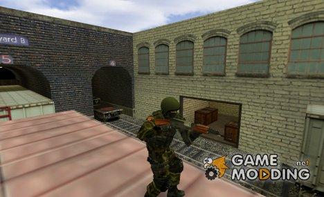 Alfa Antiterror v2 для Counter-Strike 1.6