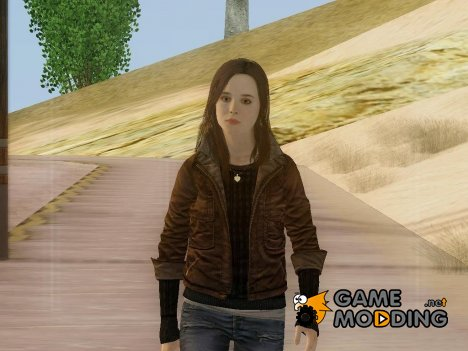 Jodie Holmes from Beyond Two Souls для GTA San Andreas