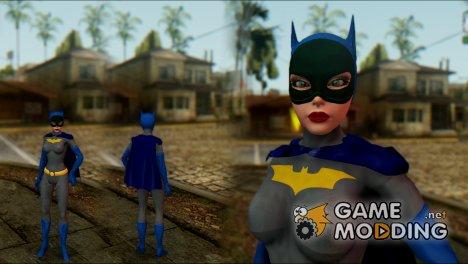 Batgirl for GTA San Andreas