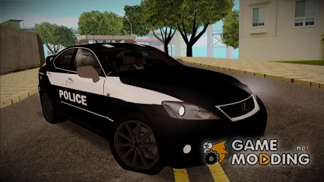 Lexus IS-F 2009 Police for GTA San Andreas