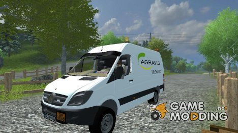 Mercedes-Benz Sprinter for Farming Simulator 2013