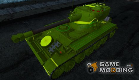 Шкурка для AMX 13 75 №5 for World of Tanks