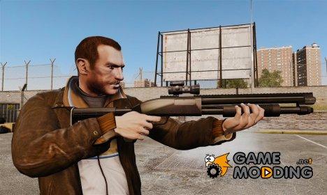 Тактический дробовик v1 for GTA 4