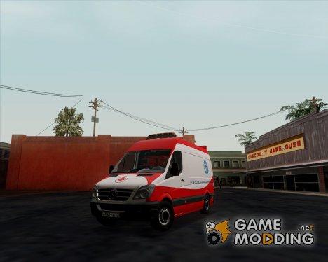 Mercedes Sprinter 311CDi Скорая Помощь for GTA San Andreas