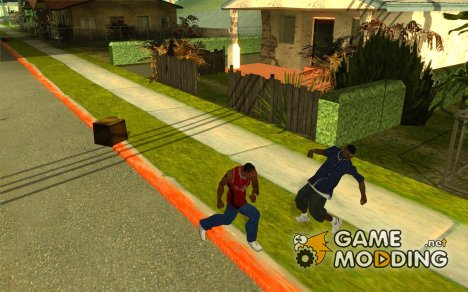 Reality peds settings 2.0 for GTA San Andreas