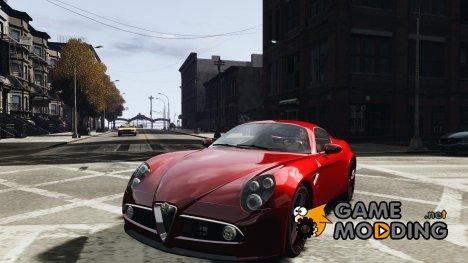 Alfa Romeo 8C Competizione v1 for GTA 4