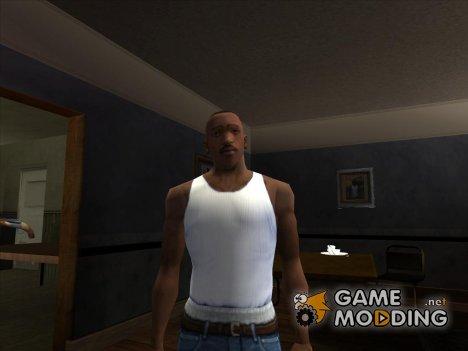 Белая майка для GTA San Andreas