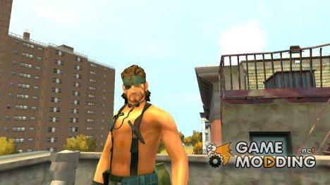 Снейк для GTA 4