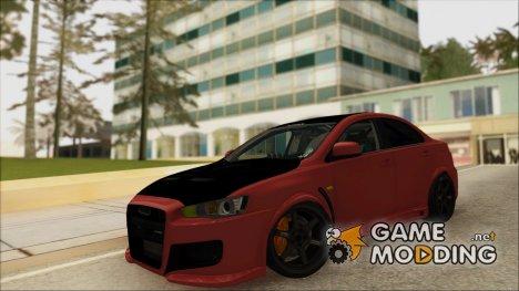 Mitsubishi EvoX WBK для GTA San Andreas