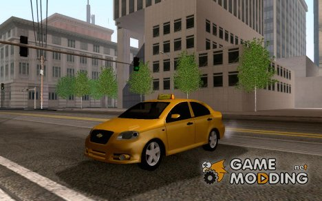 Chevrolet Aveo Algeria Taxi for GTA San Andreas