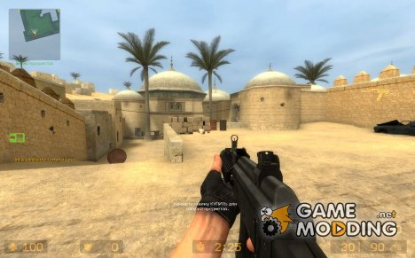 AK-47 Schalldämpfer on IIopns /fix для Counter-Strike Source