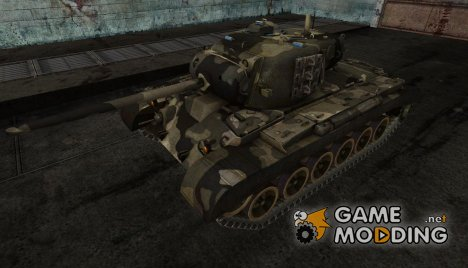 шкурка для M26 Pershing (0.6.5) for World of Tanks