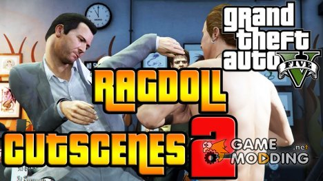 Player/Peds Ragdoll Mod for GTA 5