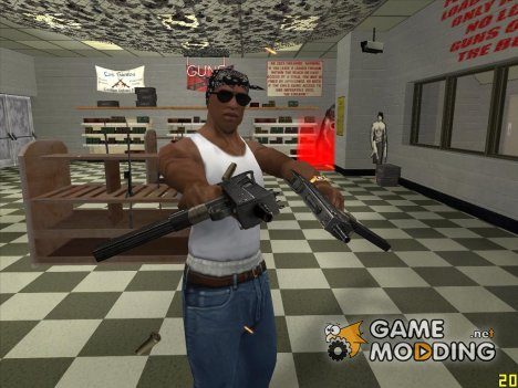 UZI Micro HD для GTA San Andreas