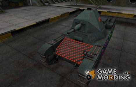 Качественные зоны пробития для AMX 38 for World of Tanks