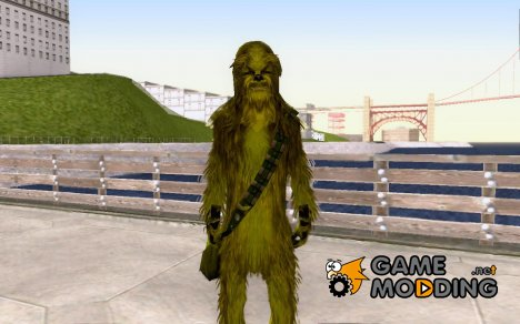 Chewbacca (Green version) for GTA San Andreas