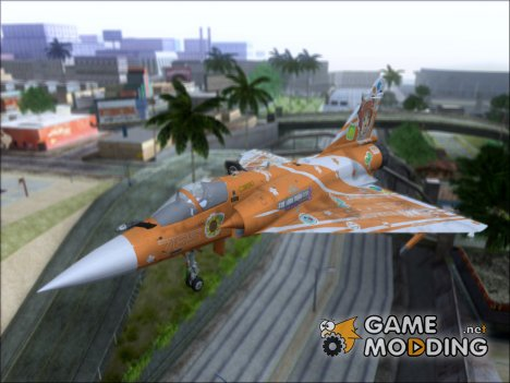 Dassault Mirage 2000-5 The Idol Master2 for GTA San Andreas