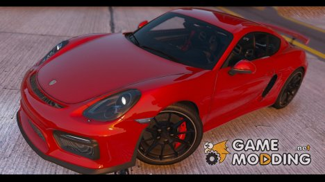 2016 Porsche Cayman GT4 v1.0 for GTA 5