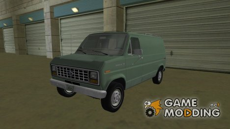 Ford E-150 (Short Version) 1983 Commercial Van для GTA Vice City