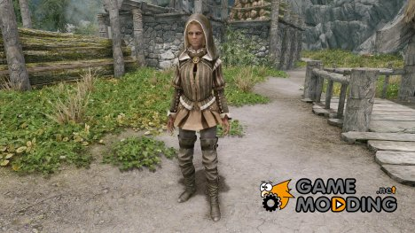 Witcher 2 - Nilfgaardian Mage Outfit for TES V Skyrim