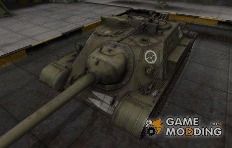 Зоны пробития контурные для СУ-122-54 для World of Tanks