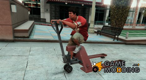 Pallet Jack King - BMX MOD for GTA 5
