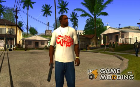 Футболка Gangsta for GTA San Andreas