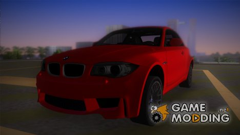 BMW 1M Coupe 2011 для GTA Vice City