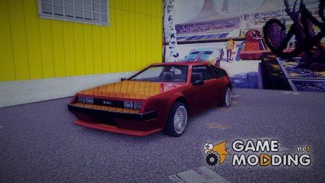 Deluxo DMC-12 для GTA 3